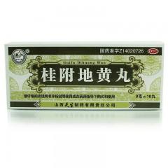 紫金山泉 桂附地黃丸 9g*10丸/盒