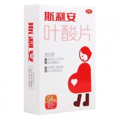 创盈 斯利安 叶酸片 0.4mg*93片