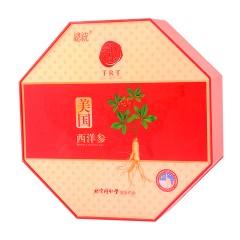 同仁堂 总统牌 美国西洋参 0#参片/100g 礼盒