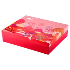同仁堂 中国结礼盒 (西洋参切片60g*2+枸杞子80g)