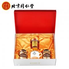 同仁堂 中国结礼盒一 (西洋参切片60g*2+枸杞子80g)