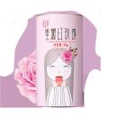 同仁堂重瓣紅玫瑰花 50g 干花草茶養顏食用罐裝
