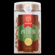 同仁堂 西洋参 120g(直径1.4-1.6cm)/瓶