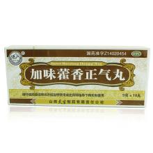 紫金山泉 加味藿香正气丸 9g*10丸/盒