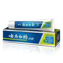 云南白药 薄荷清爽型牙膏 210g/盒
