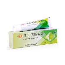 顺峰 维生素B6软膏 10g 痤疮酒槽鼻脂溢性湿疹