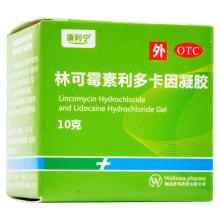 康利宁 林可霉素利多卡因凝胶 10g/盒