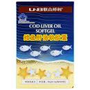 联合邦利(UNB) 鳕鱼肝油软胶囊 30g(0.5g/粒*60粒)/瓶