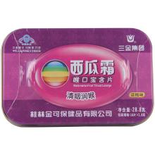 三金 西瓜霜喉口宝含片话梅味 1.8g*16片