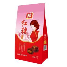 雅客 红糖夹心糖果 132g/袋