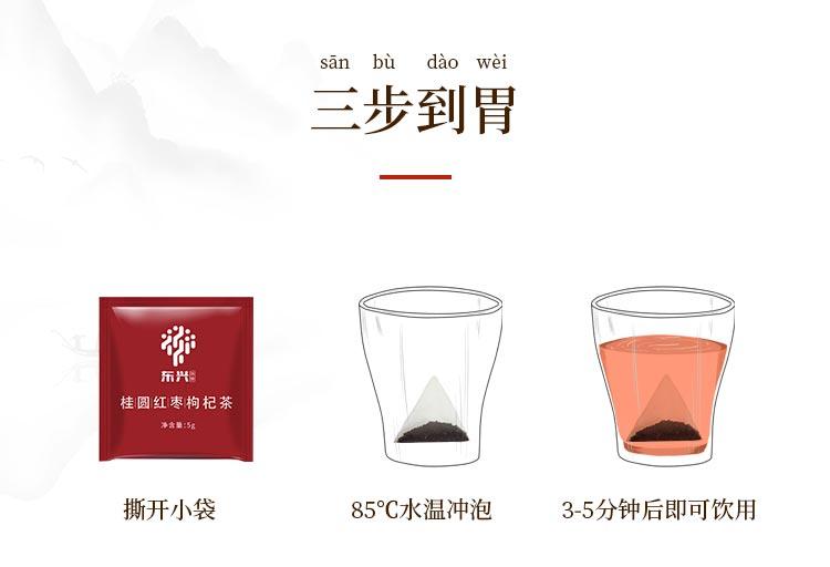 东兴本草 罗汉果凉茶 2.5g*12袋/盒 10