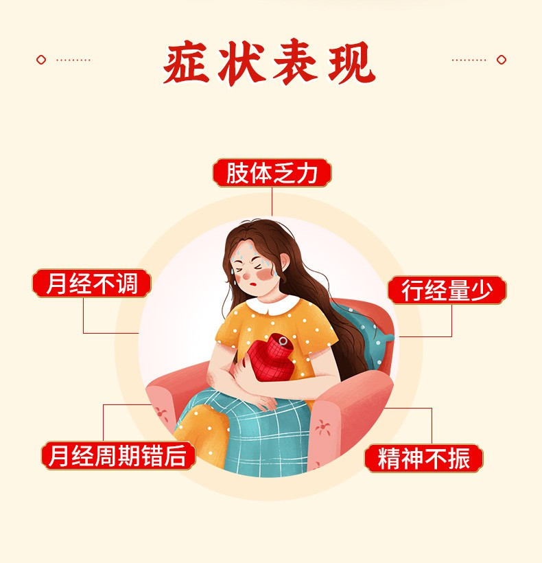 同仁堂 八珍益母丸 60g*1/盒 3